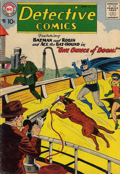 Cover for Detective Comics (DC, 1937 series) #254