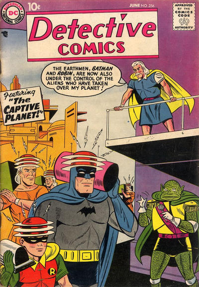 Cover for Detective Comics (DC, 1937 series) #256