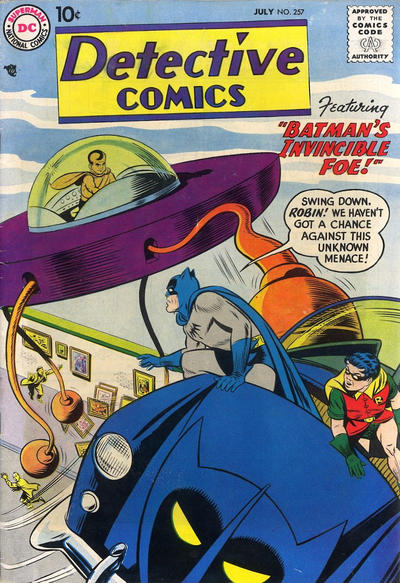Cover for Detective Comics (DC, 1937 series) #257