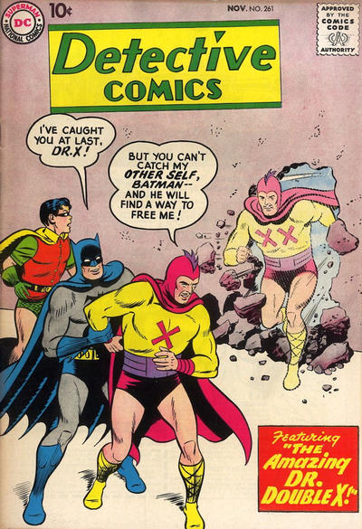 Cover for Detective Comics (DC, 1937 series) #261