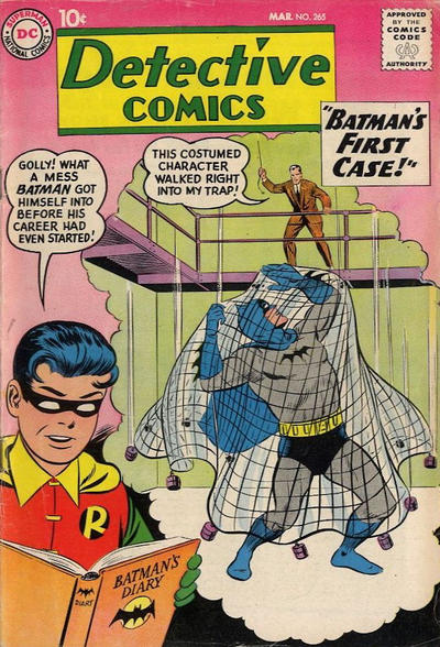 Cover for Detective Comics (DC, 1937 series) #265