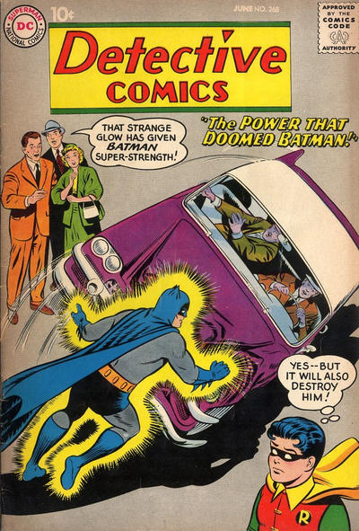 Cover for Detective Comics (DC, 1937 series) #268