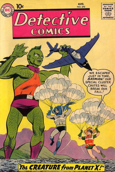 Cover for Detective Comics (DC, 1937 series) #270