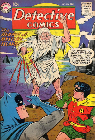 Cover for Detective Comics (DC, 1937 series) #274