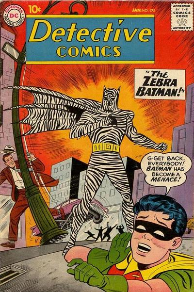 Cover for Detective Comics (DC, 1937 series) #275