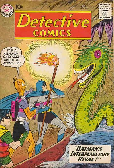 Cover for Detective Comics (DC, 1937 series) #282
