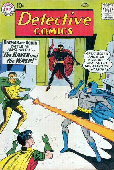 Cover for Detective Comics (DC, 1937 series) #287