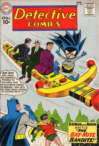 Cover for Detective Comics (DC, 1937 series) #289