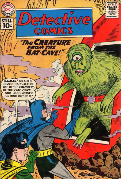 Cover for Detective Comics (DC, 1937 series) #291