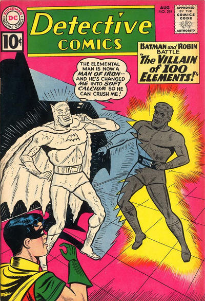 Cover for Detective Comics (DC, 1937 series) #294