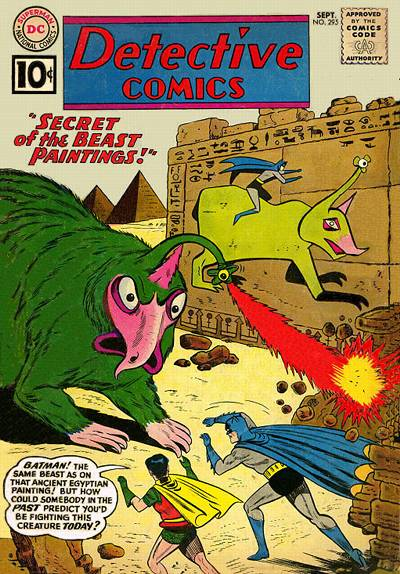 Cover for Detective Comics (DC, 1937 series) #295