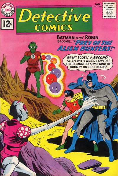 Cover for Detective Comics (DC, 1937 series) #299