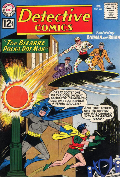 Cover for Detective Comics (DC, 1937 series) #300