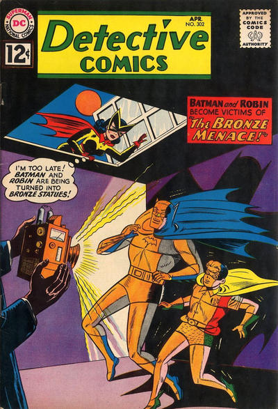 Cover for Detective Comics (DC, 1937 series) #302