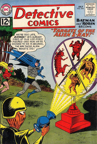 Cover for Detective Comics (DC, 1937 series) #305