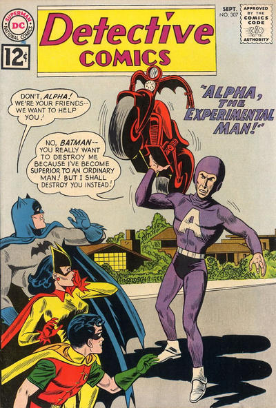 Cover for Detective Comics (DC, 1937 series) #307