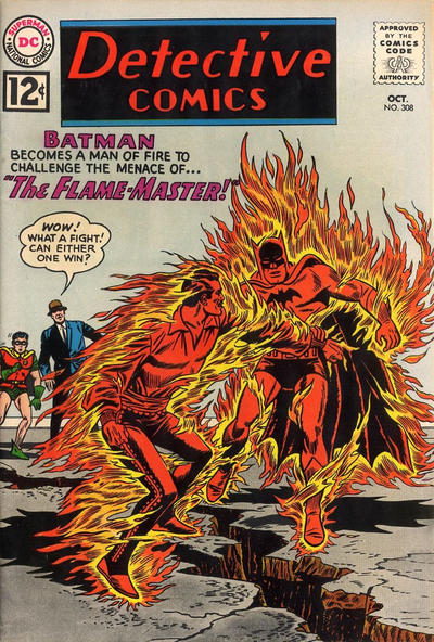 Cover for Detective Comics (DC, 1937 series) #308