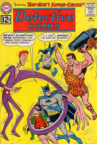Cover for Detective Comics (DC, 1937 series) #310