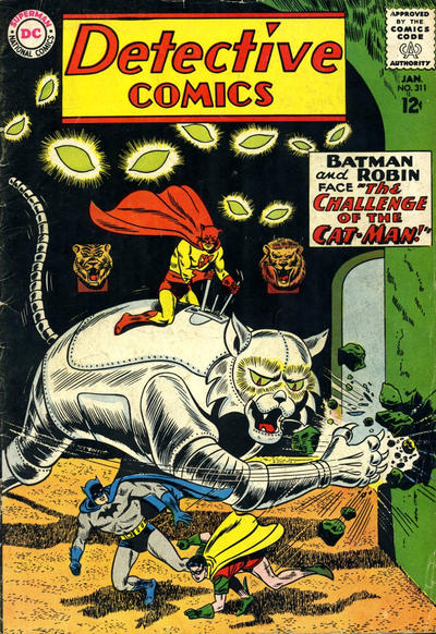 Cover for Detective Comics (DC, 1937 series) #311