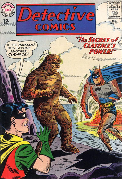 Cover for Detective Comics (DC, 1937 series) #312