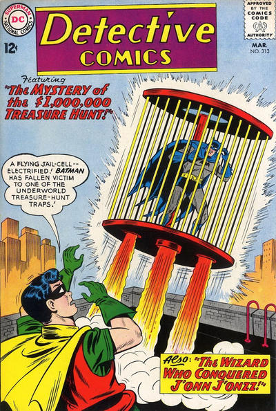 Cover for Detective Comics (DC, 1937 series) #313
