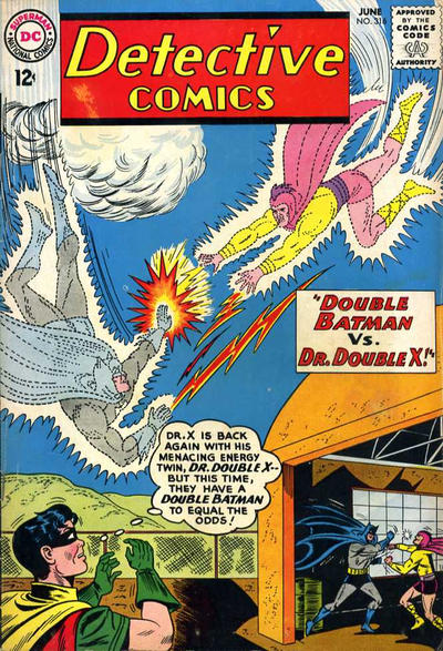 Cover for Detective Comics (DC, 1937 series) #316