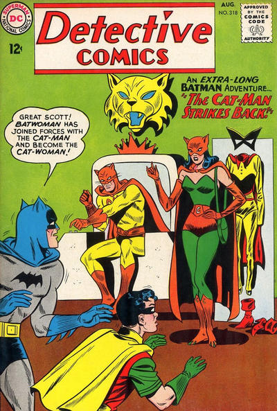 Cover for Detective Comics (DC, 1937 series) #318