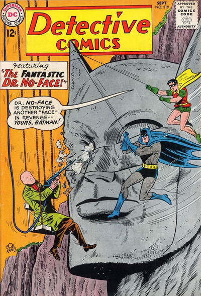 Cover for Detective Comics (DC, 1937 series) #319