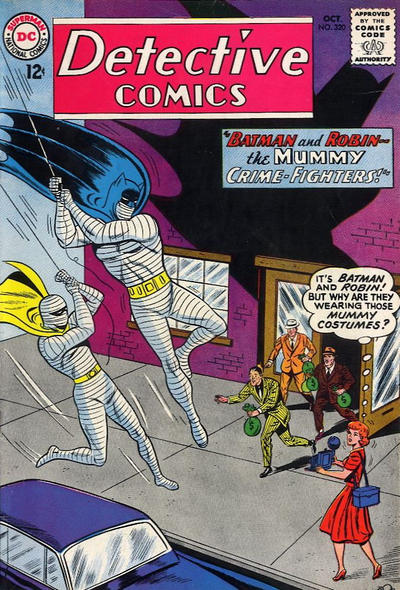 Cover for Detective Comics (DC, 1937 series) #320