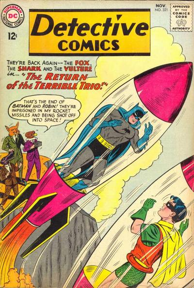Cover for Detective Comics (DC, 1937 series) #321