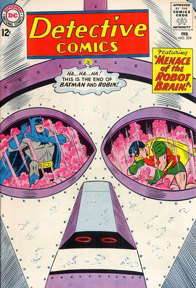 Cover for Detective Comics (DC, 1937 series) #324