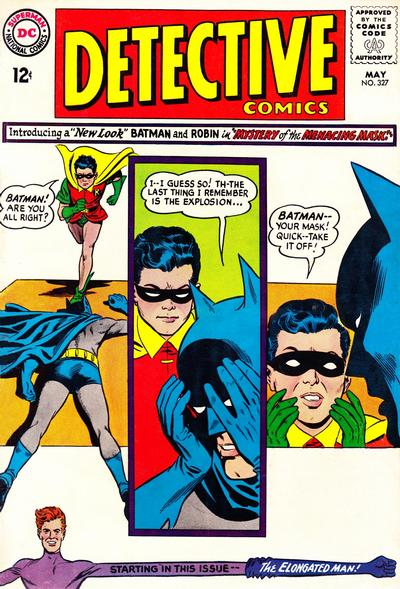 Cover for Detective Comics (DC, 1937 series) #327