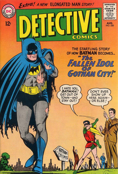 Cover for Detective Comics (DC, 1937 series) #330