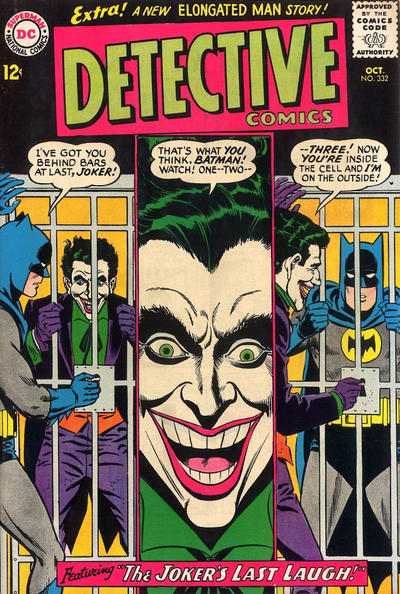 Cover for Detective Comics (DC, 1937 series) #332