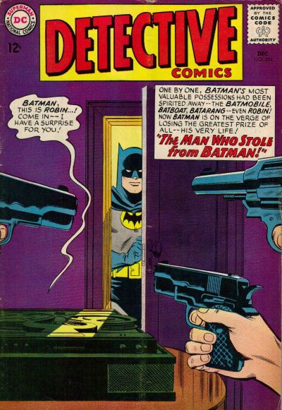 Cover for Detective Comics (DC, 1937 series) #334