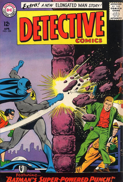 Cover for Detective Comics (DC, 1937 series) #338