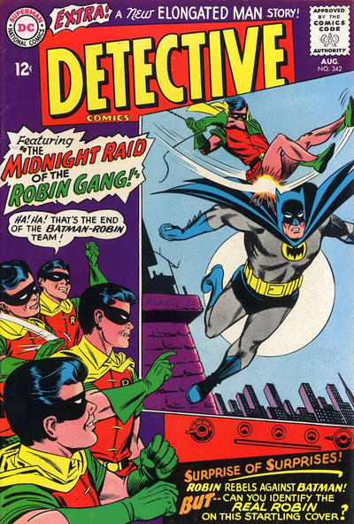 Cover for Detective Comics (DC, 1937 series) #342