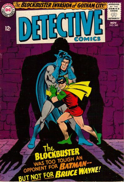 Cover for Detective Comics (DC, 1937 series) #345