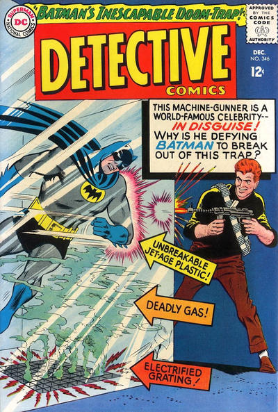 Cover for Detective Comics (DC, 1937 series) #346