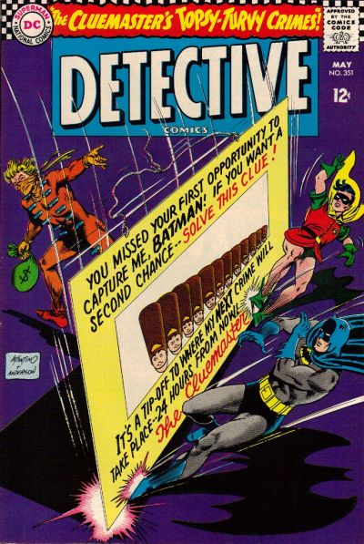 Cover for Detective Comics (DC, 1937 series) #351