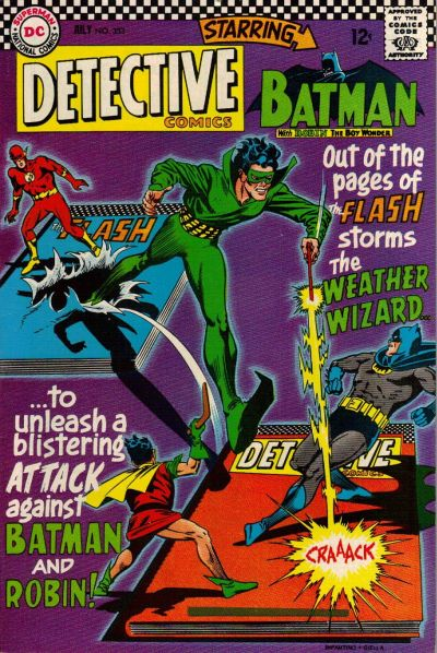 Cover for Detective Comics (DC, 1937 series) #353