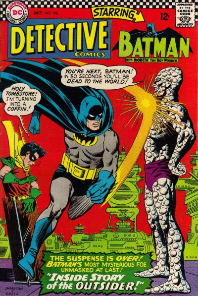 Cover for Detective Comics (DC, 1937 series) #356