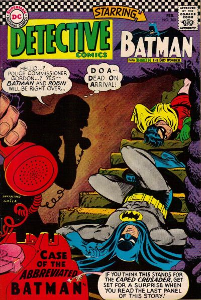 Cover for Detective Comics (DC, 1937 series) #360