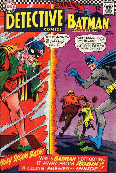 Cover for Detective Comics (DC, 1937 series) #361
