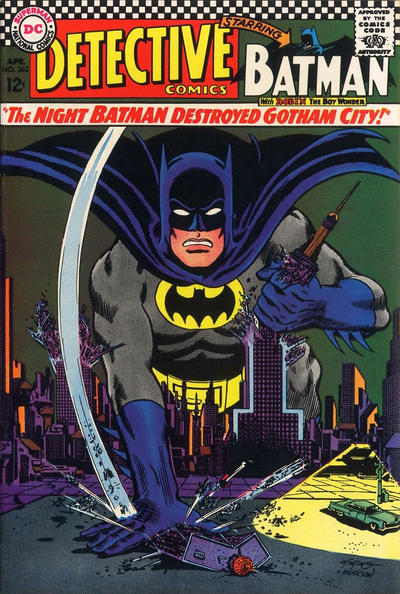 Cover for Detective Comics (DC, 1937 series) #362