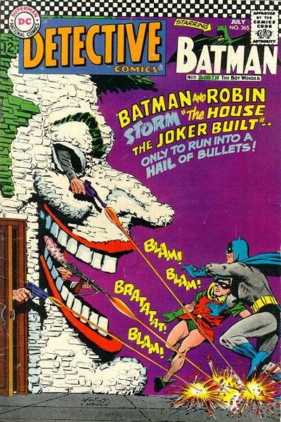 Cover for Detective Comics (DC, 1937 series) #365