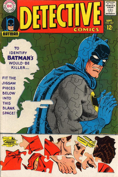 Cover for Detective Comics (DC, 1937 series) #367