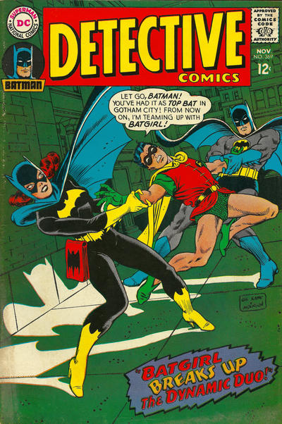 Cover for Detective Comics (DC, 1937 series) #369