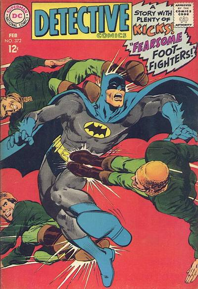 Cover for Detective Comics (DC, 1937 series) #372