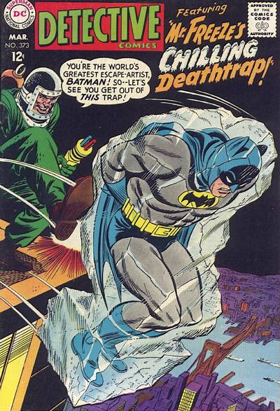 Cover for Detective Comics (DC, 1937 series) #373